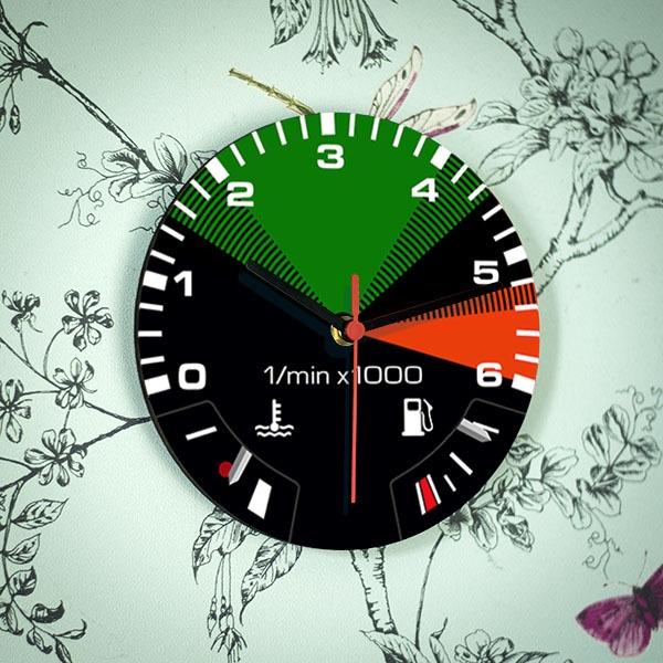 T3 Rev Counter Clock Petrol