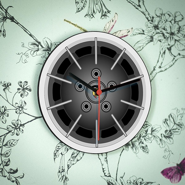 Porsche Gasburner Clock