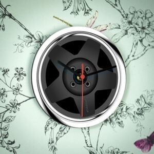 Speedline Alloy Wheel Clock