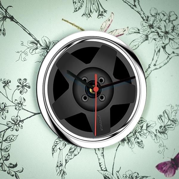Speedline Alloy Wheel Clock